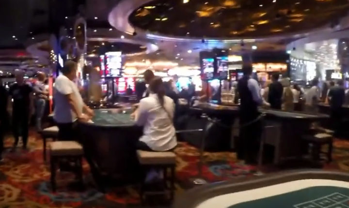 Inside Crown Melbourne - one of the worlds biggest casinos