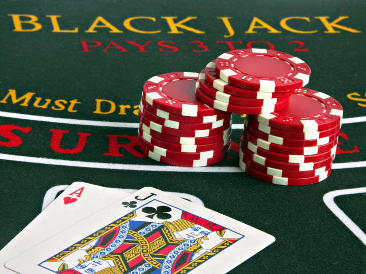What is double down in blackjack