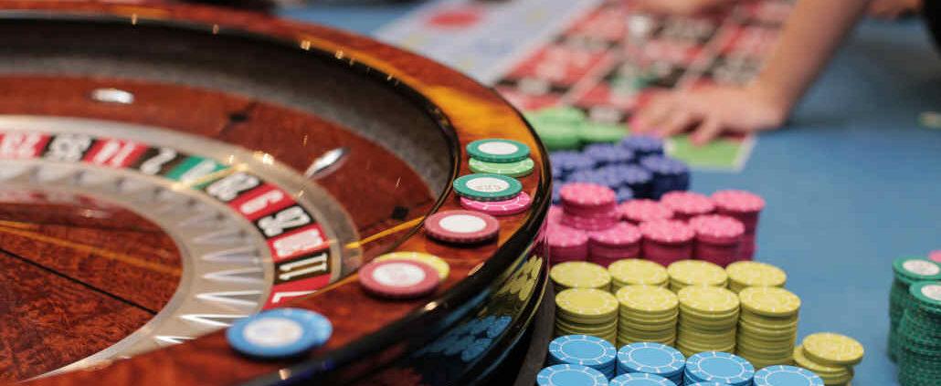 American roulette wheel
